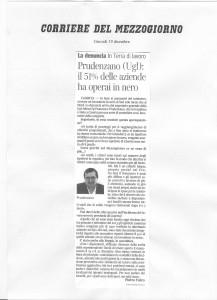 Prudenzano (Ugl): il 51% delle aziende ha operato in nero