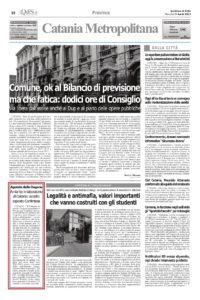 Rassegna stampa – Amianto Catania – Conferenza Confintesa dopo denuncia