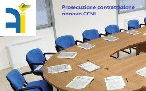 CONVOCATO TAVOLO TECNICO ALL'ARAN PER PROSECUZIONE RINNOVO CCNL