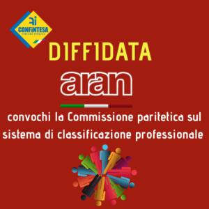 ARAN: subito la Commissione paritetica sul sistema di classificazione professionale