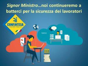 Covid-19, protocolli  su sicurezza lavoratori PA