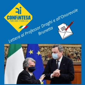 Scriviamo al Ministro Brunetta sul rinnovo del CCNL Funzioni Centrali